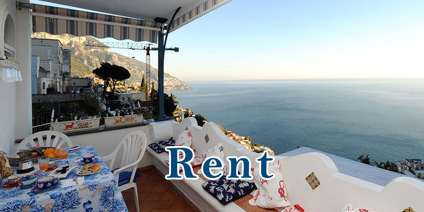 Find holiday homes and apartments for rent on the Amalfi Coast(Salerno)